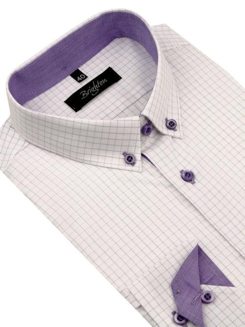 5625a2957 Pánska slim košeľa BRIGHTON | Pánske košele | All4Men.sk