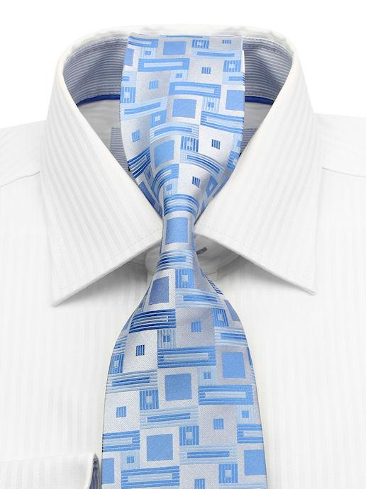 7ba71fa35 Biznis štýl | Biela bavlnená košeľa CASAMODA (klasický strih) - All4Men.sk