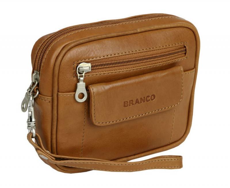 BRANCO Kožená taška na opasok 401-50 - All4Men.sk aecf1c694e2