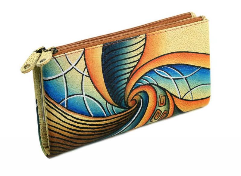 Kožená dámska peňaženka GreenLand ART+CRAFT 106-09 - All4Men.sk 699a9ea5528