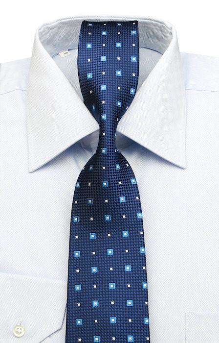 85bb72c0e Košele BIZNIS štýl | Modrá pánska košeľa zo 100% bavlny | All4Men.sk