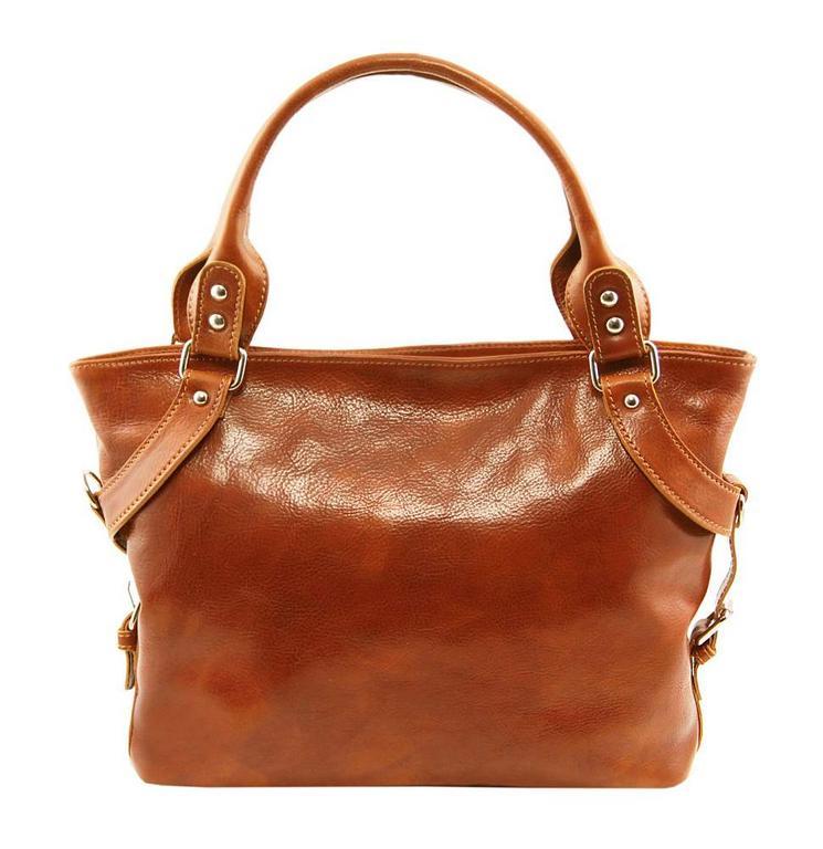 809a0c694 Dámska kožená taška ILENIA| Tuscany Leather (medová) - All4Men.sk