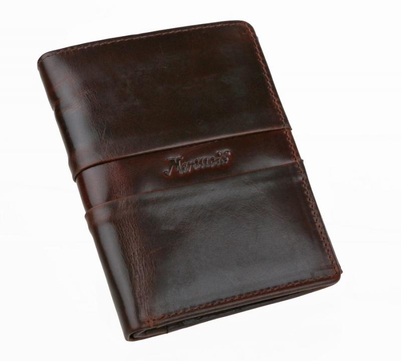 4ce3aa152b Pánska elegantná hnedá peňaženka MERCUCIO - All4Men.sk