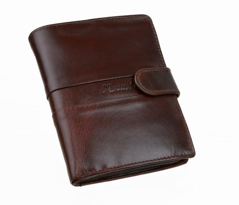Pánska hnedá peňaženka MERCUCIO 3311420 - All4Men.sk 11c56198612