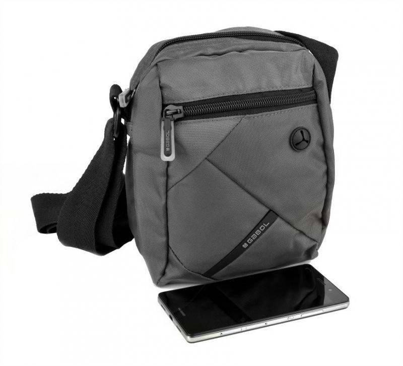 6e04b8d453 Príručná taška na rameno GABOL TWIST šedá 515201 16 - All4Men.sk