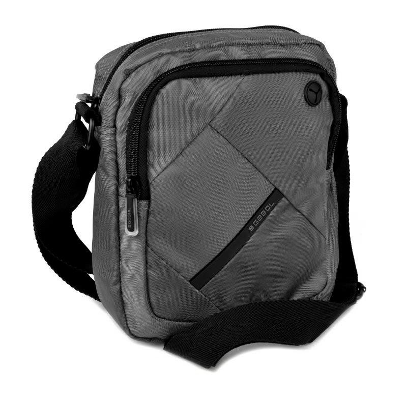 2f95f5e9d9 Príručná taška na rameno GABOL TWIST šedá 515203 - All4Men.sk