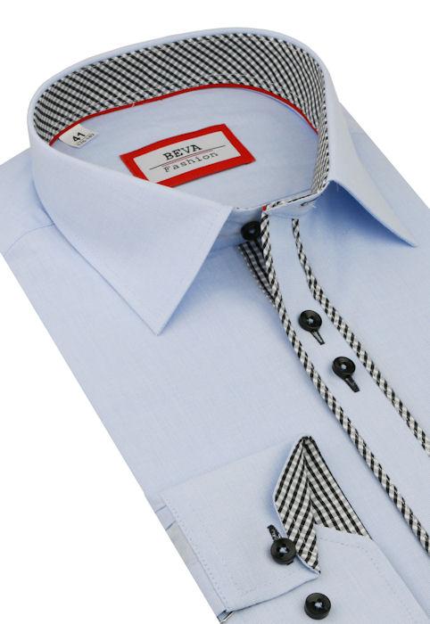 996c17b6a8ff Trendová obleková košeľa BEVA SLIM - All4Men.sk