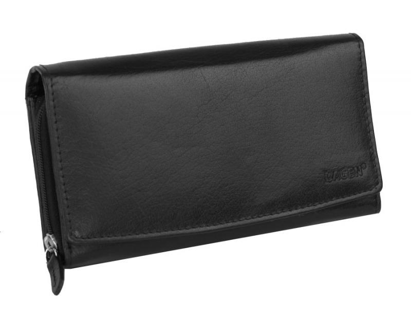 Listová dámska kožená peňaženka LAGEN V-57 BL - All4Men.sk 7d58c2b8bfe