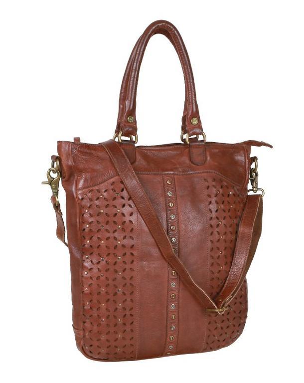 Dámska vintage hnedá kabelka GreenBurry D482-24 - All4Men.sk 85f9068d0aa