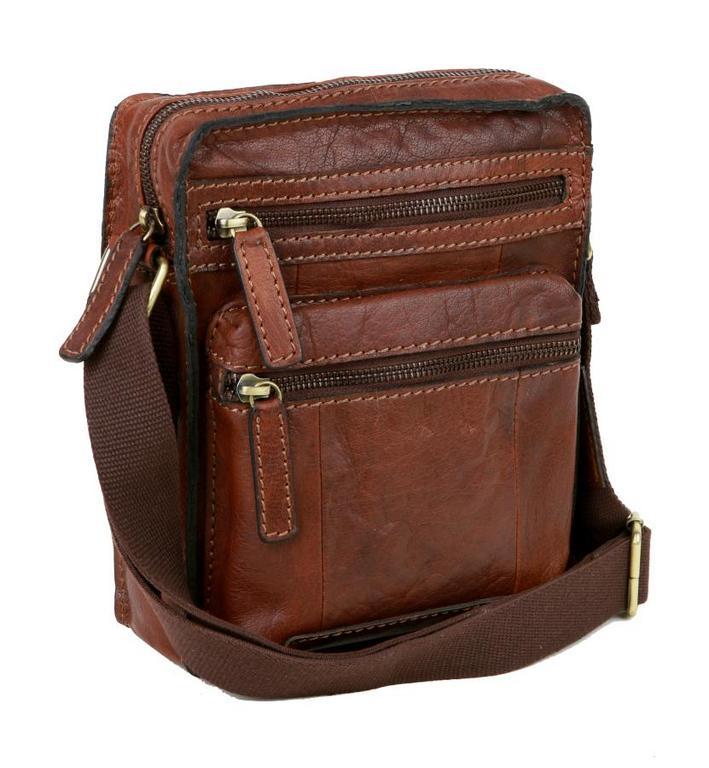 Pánska rustikálna taška z byvolej kože LAGEN 22018 - All4Men.sk e8228f94614