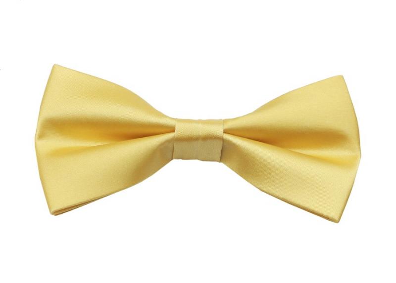 1ece03f37 Saténový zlato- žltý motýlik s vreckovkou MO-1002D10 | All4Men.sk
