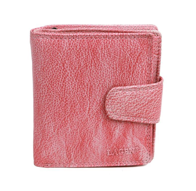 de532167b7 Dámska peňaženka s prackou ružová LAGEN 1104 - All4Men.sk