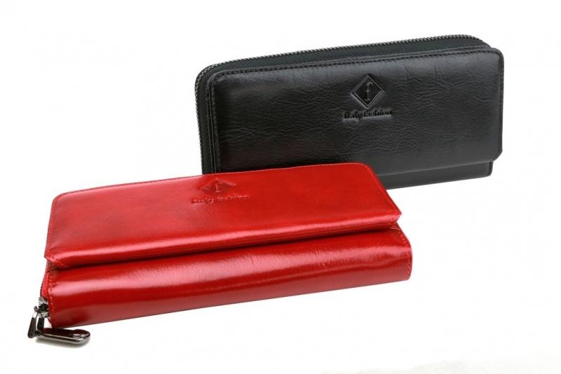 Dámska peňaženka so zipsom čierna LOREN 73001-4 - All4Men.sk c231127b97a