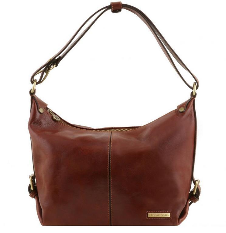 Dámska kabelka na rameno SABRINA TUSCANY LEATHER hnedá 141479 - All4Men.sk 2c36e0b4430