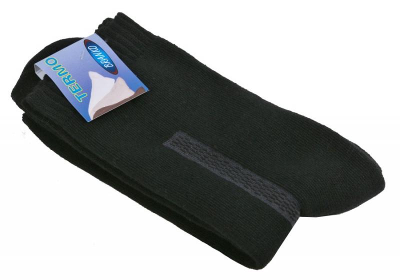 Pánske čierne termo ponožky BRANKO - All4Men.sk 02e7b2e60a