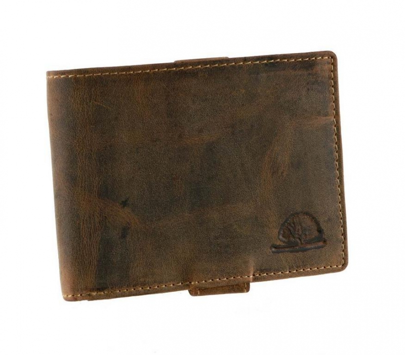 6311ed647f Pánska peňaženka RFID GREENBURRY hnedá - All4Men.sk