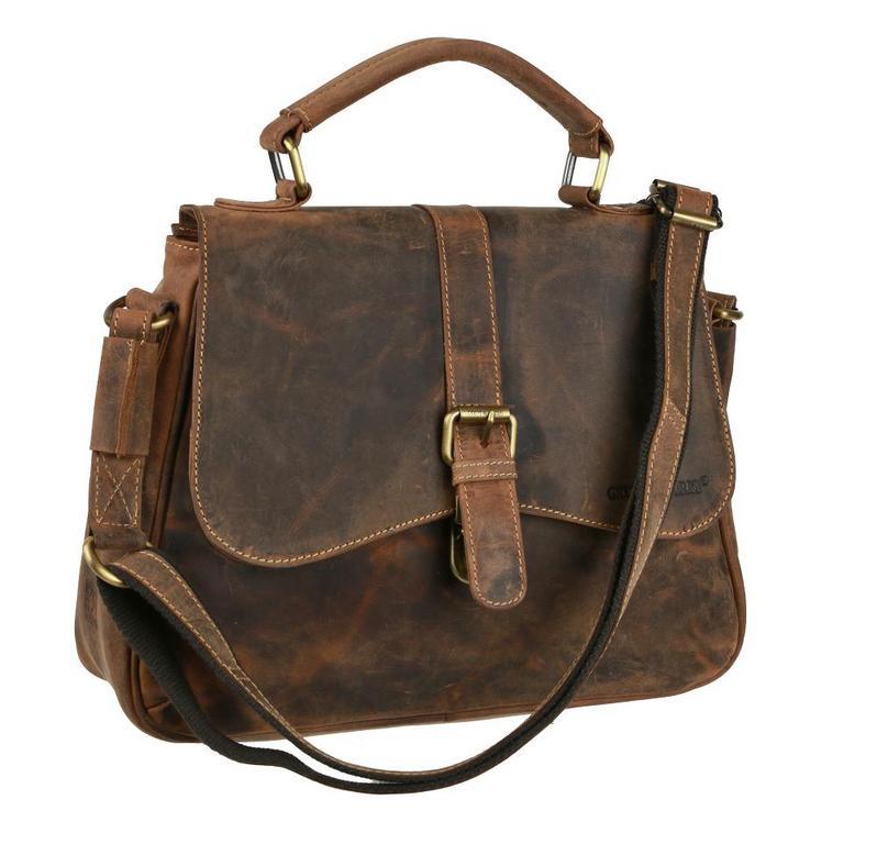 5154dfec01 Dámska kabelka z brúsenej kože GREENBURRY 1677 - All4Men.sk
