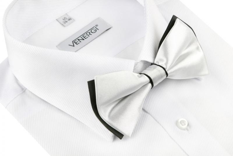 15aefe7ae968 Spoločenská pánska košeľa s manžetou na gombík VENERGI KLASIK - All4Men.sk