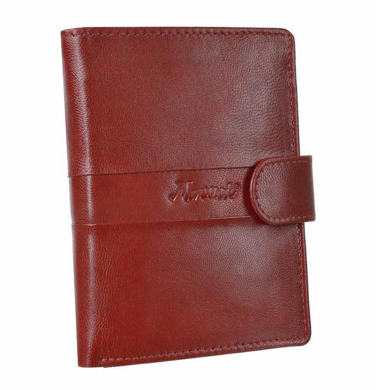 38459096b0 Červená kožená peňaženka MERCUCIO 3911647 - All4Men.sk