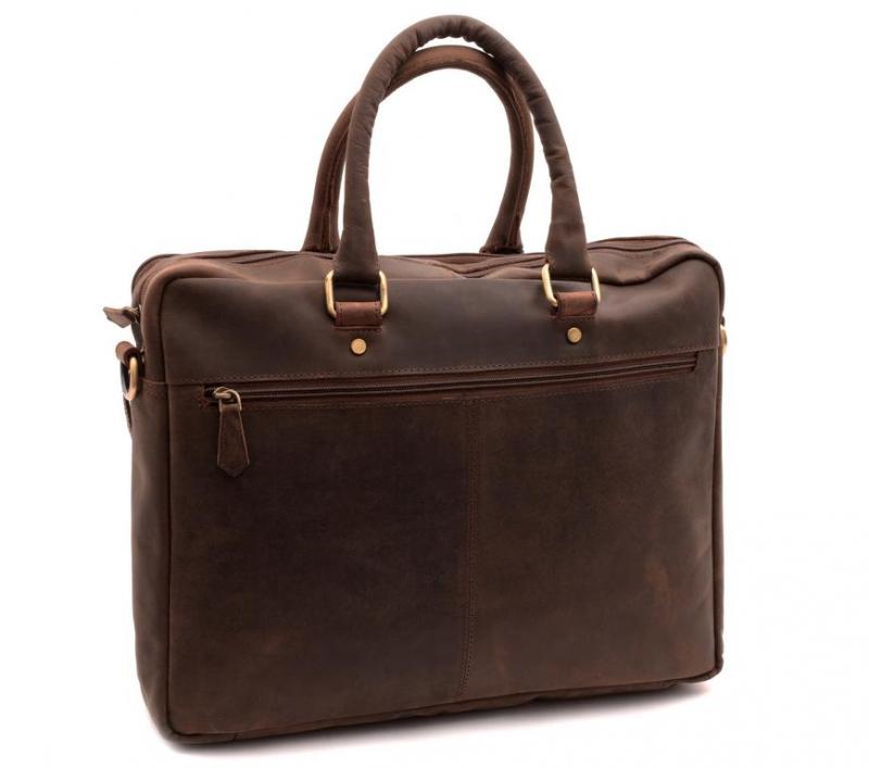 1d4ab75c48 Kožená taška na notebook 15