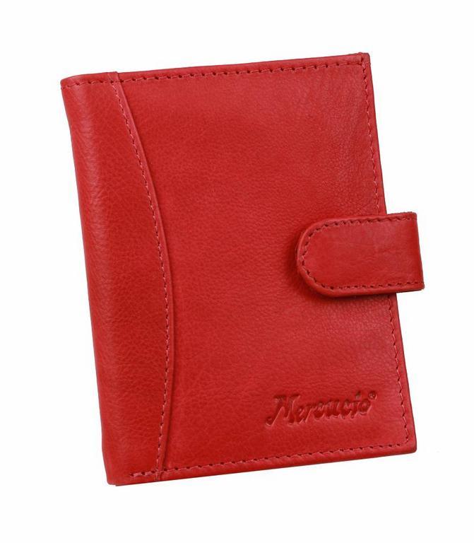 adff29ef4 Dámske kožené puzdro na karty červené MERCUCIO 2311900 - All4Men.sk