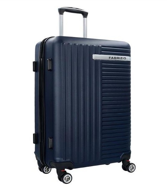 bd02bf2811f4c Malý cestovný kufor do lietadla FABRIZIO modrý - All4Men.sk