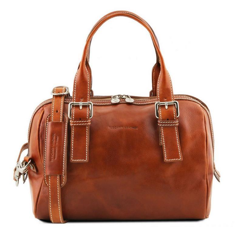 b73c72e09a623 Dámska luxusná kabelka EVELINE TUSCANY medová - All4Men.sk