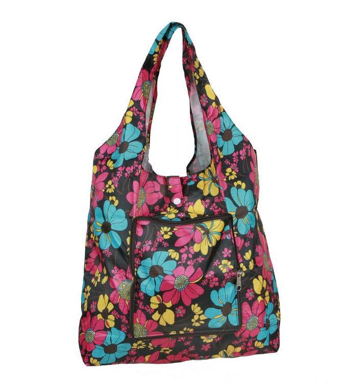6c0e3ac557 Skladacia nákupná taška kvetovaná - All4Men.sk