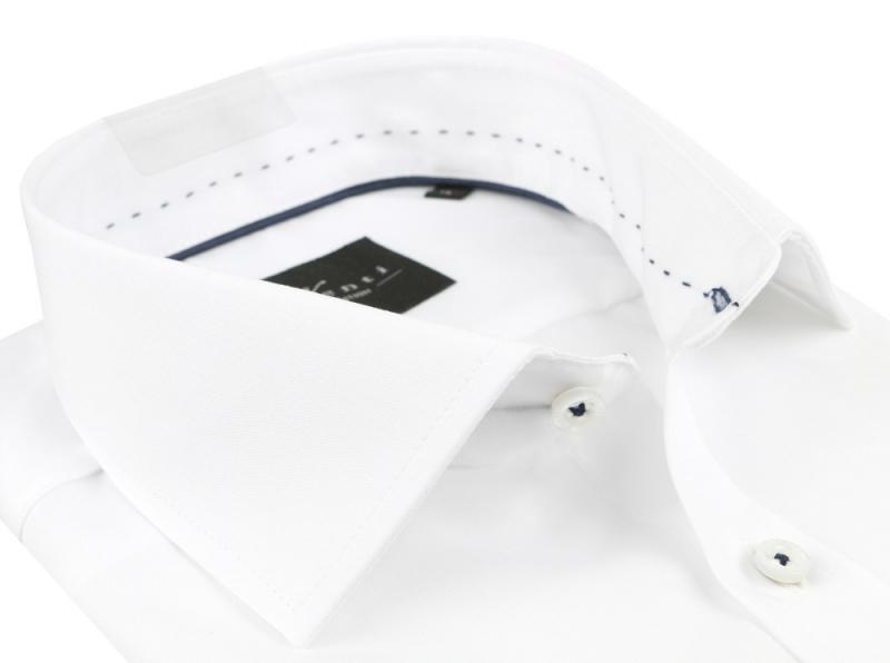 00d7dea4ba27 Luxusná biela košeľa s dlhým rukávom VENTI SLIM (non iron) - All4Men.sk