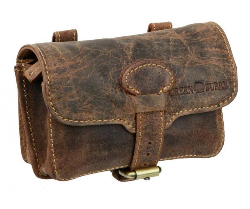 c20241c1c7 Kožená taška na opasok GreenBurry 16x10x6 cm - All4Men.sk