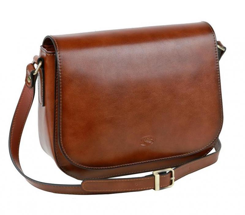 d3567433e7 Dámska luxusná kabelka KATANA 18x24 cm hnedá - All4Men.sk