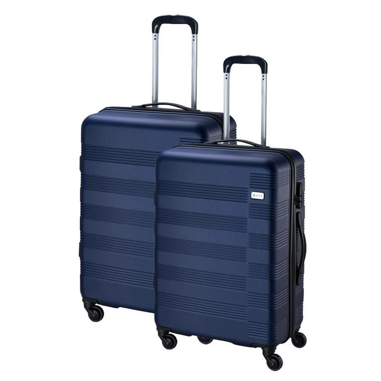 387a51f411807 Sada cestovných kufrov 2-dielna, škrupinový modrý - All4Men.sk