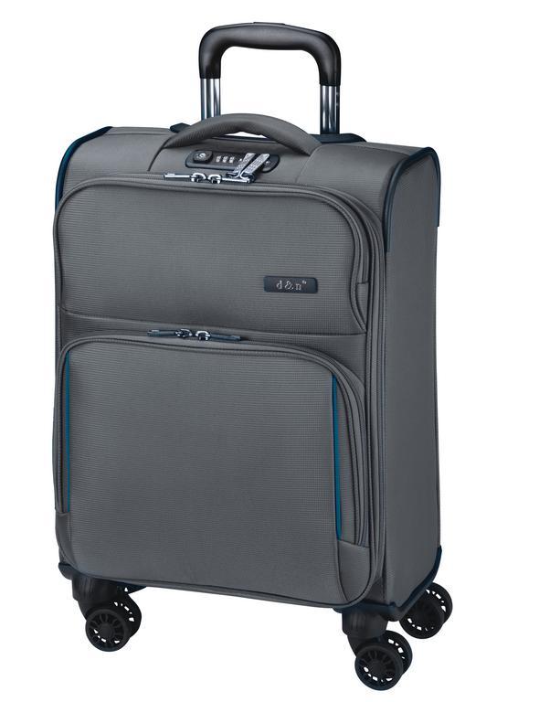 519d1e78fcf4c Stredný cestovný kufor 70 litrov, nylon šedý - All4Men.sk