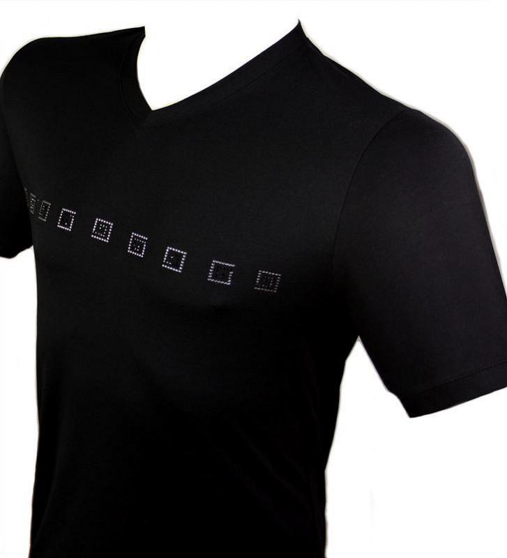 dd2403641672 Luxusné pánske tričko FAVAB VERSA LUCIANO - All4Men.sk