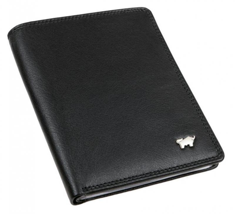 787503c51 BRAUN BUFFEL Puzdro na doklady a kreditné karty 90448 čierne - All4Men.sk