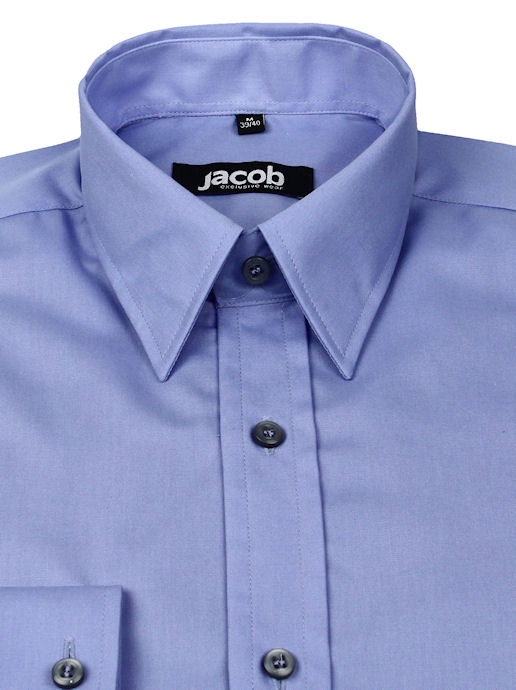57d09810a75a Modrá košeľa SLIM FIT JACOB 10251 - All4Men.sk