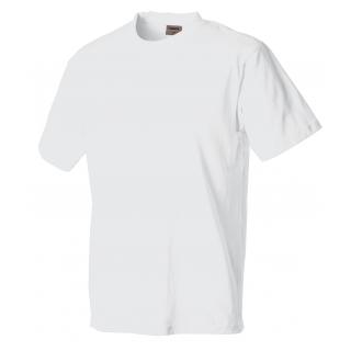 1b4d247d6d Bavlnené biele pánske tričko LAMBESTE