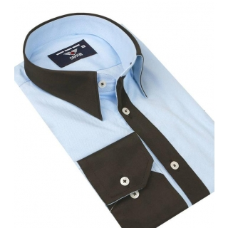 c218e3a2cdf4 Biela košeľa na manžetové gombíky VENTI SLIM Easy Care