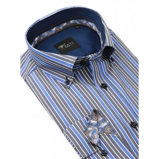 Biela košeľa na manžetové gombíky VENTI SLIM Easy Care  00899280bd