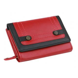 f689363ff Dámska červená kožená peňaženka XL GreenBurry | All4Men.sk | All4Men.sk