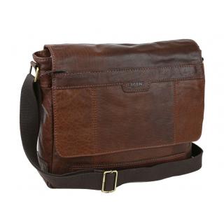 Kožená cestovná taška tmavohnedá LISBONA large TUSCANY  0933fc36d9b