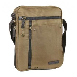 Textilná taška na výšku 30 x 24 cm GABOL INDIANA khaki 13822 ded8bda515a