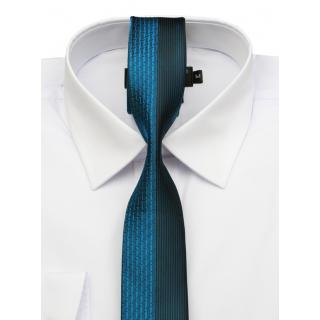 Biela slim košeľa krátky rukáv BRANKO 80057 84588b7b29