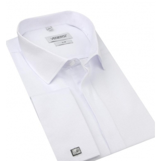 7763f560ea26 Pánska sviatočná košeľa na manžetové gombíky VENERGI SLIM 170 cm