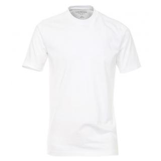 d8a8f29ead65 Pánske biele tričko CASAMODA Comfort okrúhly výstrih 2-balenie