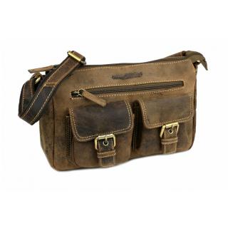 Dámska kožená kabelka medová TUSCANY LEATHER ANNALISA  e5d0d4b6292