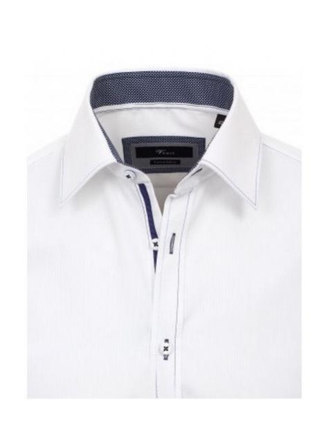 18bd9d894424 Luxusné pánske košele VENTI - Biela biznis košeľa 100% BA