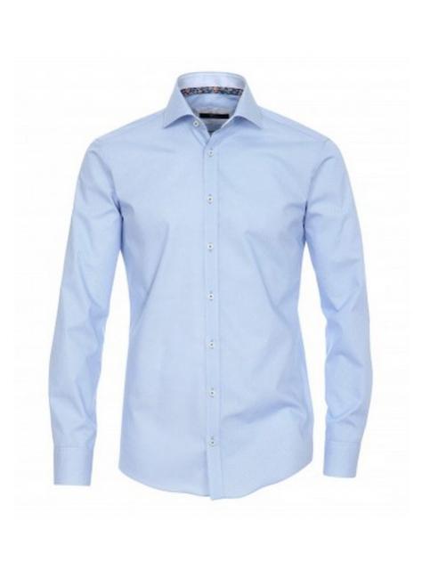 38fe1befddab Modrá luxusná biznis košeľa VENTI (super slim) - All4Men.sk