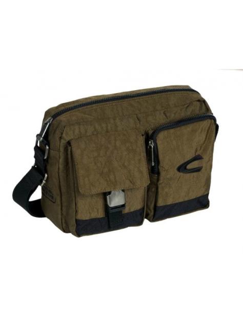 08a9ceef2 CAMEL ACTIVE Taška na rameno kaki-zelená 605-38 - All4Men.sk