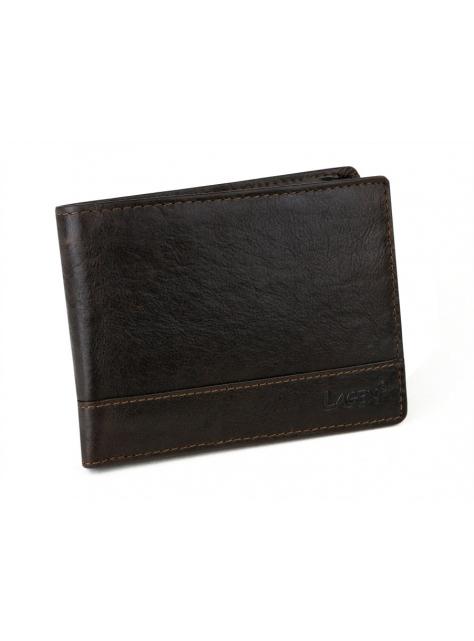 8f61234bdfab Pánska kožená peňaženka LAGEN 64665 hnedá - All4Men.sk